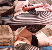 Horny Slut takes a Long 40cm Dildo in Her Ass