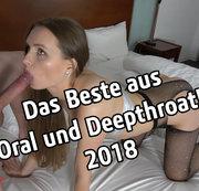Das Beste aus Oral und Deepthroat! 2018