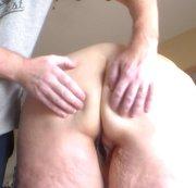 Rubbing her Nice Ass