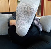 stinkige Socken nach einen langen Tag