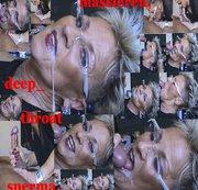 #Schwanz Massage #Deepthroat bis zum ab´Rotzen #SPERMA