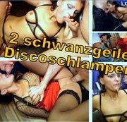 2 schwanzgeile Disco-Schlampen