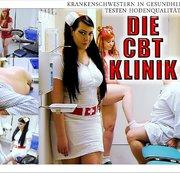 Die CBT Klinik - Krankenschwestern in Gesundheitslatschen testen Hodenqualität