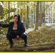 Im Wald gepisst