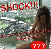 SCHOCK!!!NS AM FENSTER FÜR ALLE HINGUCKER