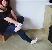 Das besondere Latexhandschuh Video