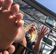Meine Hollywoodreifen Füße melken Dich