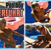 Spanischen Poolboy VERNASCHT