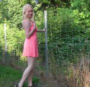 Sommerliches Outdoor Pissvideo