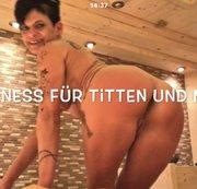 Diana Geil im Wellness- Urlaub !!