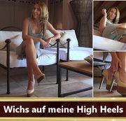 Wichs auf meine High Heels