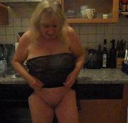 Posing in der Küche
