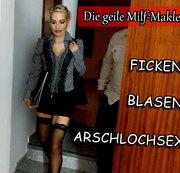 DIE MILF-MAKLERIN ! Ficken,Blasen ARSCHLOCHSEX !!