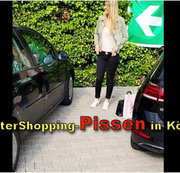 AfterShopping-Pissen in K�ln