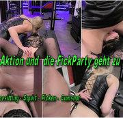 4er Aktion und die Fick-Party geht zu Ende