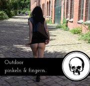 Outdoor pinkeln und fingern