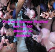 Fick und Sperma Festival mit ca.100 Männer.3