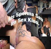 Im Sexkino als Sperma Sau