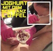 Joghurt mit dem SCHWANZ L�FFEL