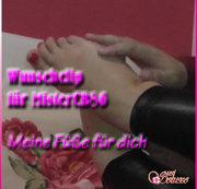Wunschclip für MisterCB86! Meine Füße für Dich!