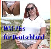 Mein WM PISS für Deutschland