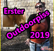 Erster Outdoorpiss 2019