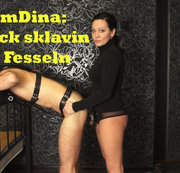 IamDina: Fick sklavin in Fesseln