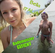 Bella ITALIA - Gefickt am öffentlichen Strand!!!