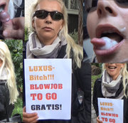 Luxus-Bitch! Blowjob TO GO! Gratis!!!
