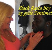 Black Rasta Boy mit 25cm Monsterschwanz