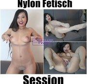Nylon Fetisch Session