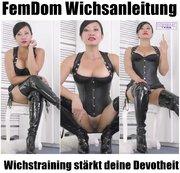 FemDom Wichsanleitung - Wichstraining st�rkt deine Devotheit