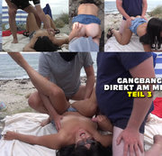 Gangbang direkt am Meer - Teil 3