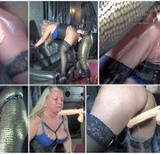 Lady Luciana fickte mich hart! Teil 2! 2 mal Extrem-Squirting und Gagging-Deepthroat!