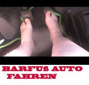 Barfuß Autofahren (ohne Ton)