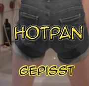 In Hotpans gepisst