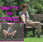 Public Squirt im Park