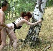 Im Wald rumgefickt ...