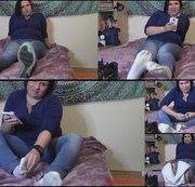 Juckende Füße, schmutzige Socken