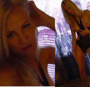 Blondine genommen und besamt