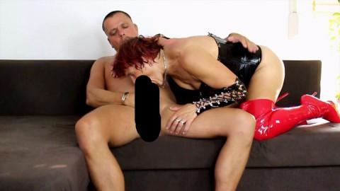 Sexy Haengetitten Zierlicher Facesitting