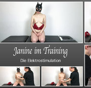 Janine im Training – Die Elektrostimulation