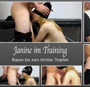 Janine im Training – Blasen bis zum letzten Tropfen