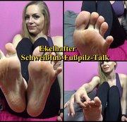 Ekelhafter Schweißfuß-Fußpilz-Talk