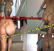 """Nackt im Treppenhaus -""""Ohne Kleidung in den Waschkeller"""""""