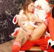 Oh Nein! Vom Weihnachtsmann pers�nlich bestraft worden!