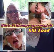 Büro Schlampe spermageil - XXL Laod