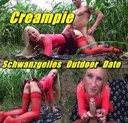 Creampie - Schwanzgeiles Outdoor Date