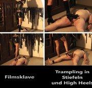 Tramling in Stiefeln und High Heels