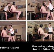 Faceslapping (Ohrfeigen)  durch Miss B.
